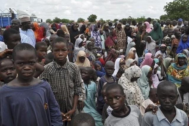 Image result for Nigerians urged to donate to displaced children