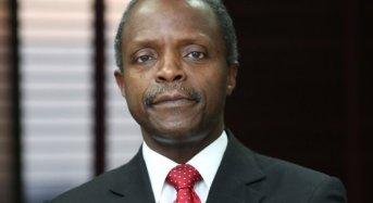 Osinbajo Leads Nigerian Delegation To World Economic Forum