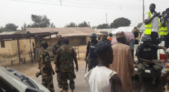 Boko Haram: Soldiers, Policemen Fight Over Displaced Persons Food