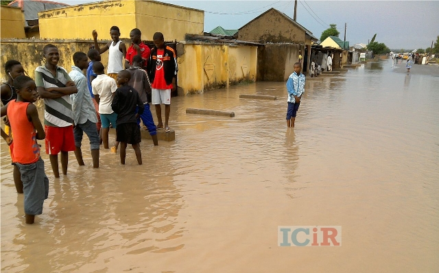 Residents live at the mercy of floods