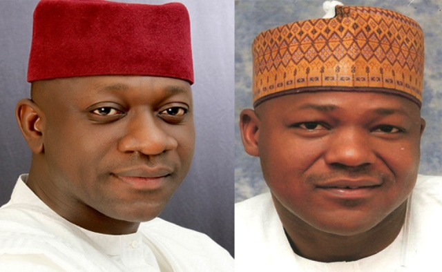The men at the centre of the budget padding controversy, Abdulmumin Jibrin and Yakubu Dogara