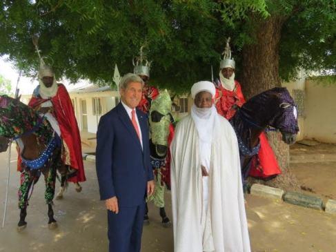 Secretary Kerry and Sultan Abubakar