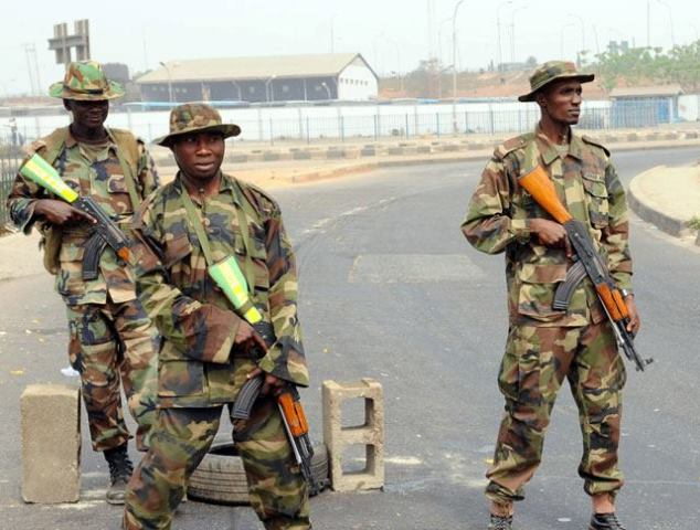 Troops Take on Armed robbers, kidnappers