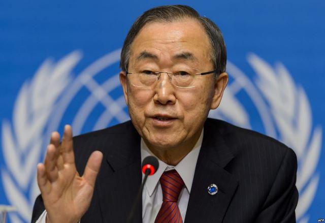 UN Sec. Gen. Ban Ki-Moon