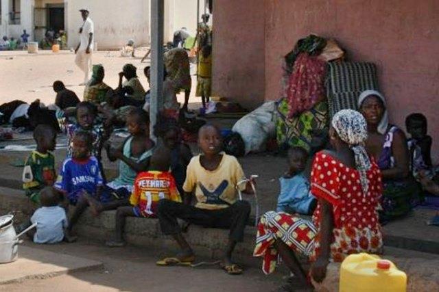 Women and children at an IDP camp in Adamawa State, Nigeria. Photo: UN Women/Ikechukwu Attah