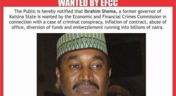 EFCC Declares Former Katsina Governor Wanted
