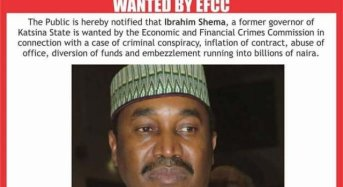 EFCC Declares Former Katsina Governor Wanted