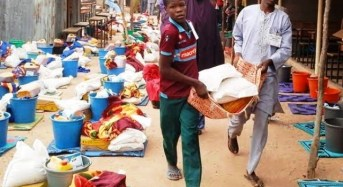 FG Donates Relief Items To Displaced Persons In Yobe