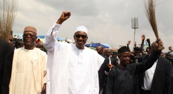 Buhari On Two-Day Official Visit To Edo State