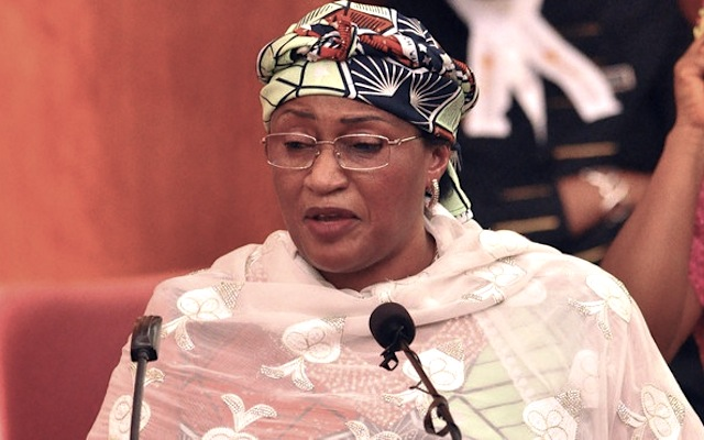 Minister for Women Affairs,  Aisha Alhassan