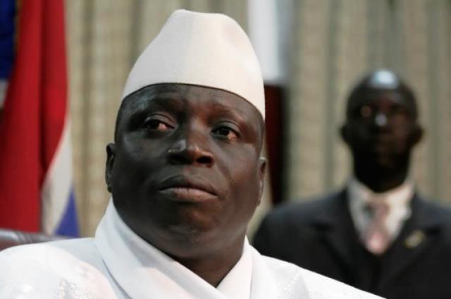 Incumbent Gambian President, Yahya Jammeh