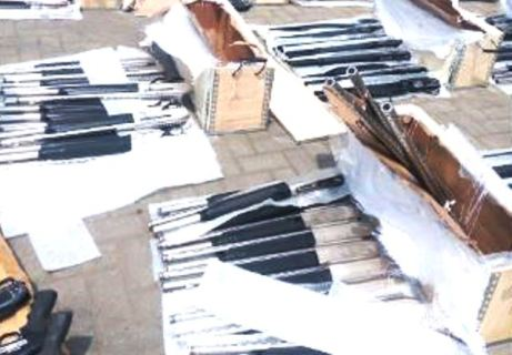 Custom Seizes Cache Of Arms At Lagos Port