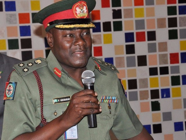 Acting Director, Defence Information, Rabe Abubakar
