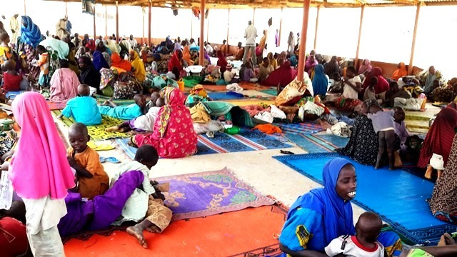 Fleeing residents troop to IDP camps daily