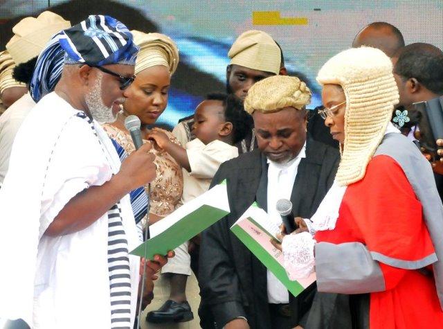 Akeredolu Sworn In As Ondo State Governor