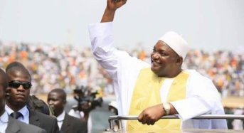 Gambian President Barrow Sworn In The Second Time