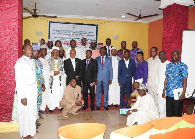 ICPC Tasks Religious Leaders On Promotion Of Integrity