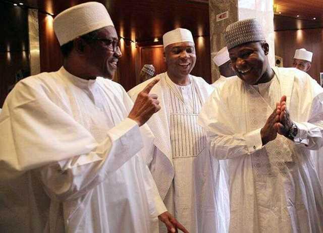 Senate President, Speaker Visit Buhari In London
