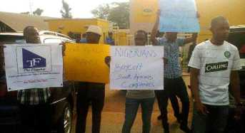 Xenophobic Attacks: Nigerians Protest Against South Africa