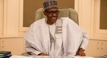 President Buhari Back In Office