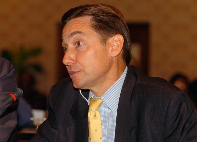 The French Ambassador to Nigeria, Denys Gauer