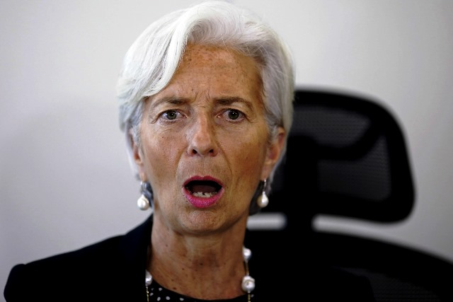 """IMF director Christine Lagarde condemned the """"cowardly act of violence"""" against IMF staff"""