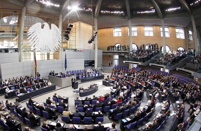 "The German Prliament is also called ""The Bundestag"""
