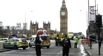 UK Parliament Under Attack By Suspected Terrorists