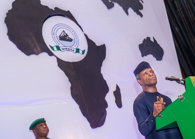President Buhari was represented at the 3rd AAMA conference by Vice President Yemi Osinbajo