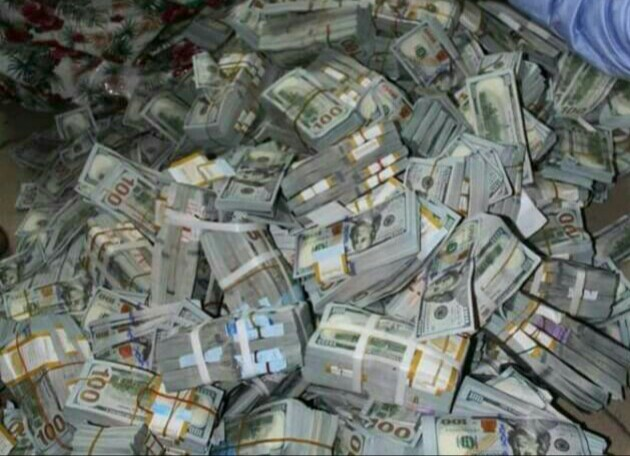 EFCC Discovers $43 Million, £27,800 In Lagos Building