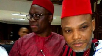 Fayose Shows Up In Court In Solidarity With Nnamdi Kanu