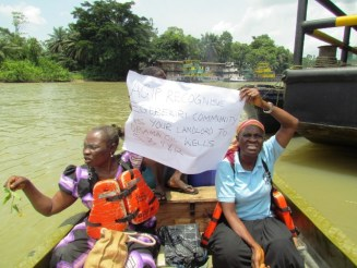 Host Community Disrupts Oil Production In Bayelsa1