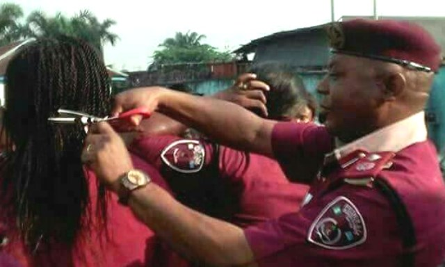 Road Safety Corps Suspends Commander For Cutting Female Officers' Hairs