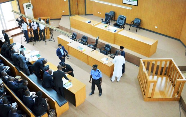 Saraki's trial at the CCT stalls again