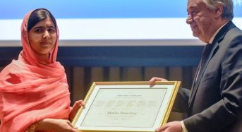 "UN Appoints Malala ""Messenger Of Peace"""