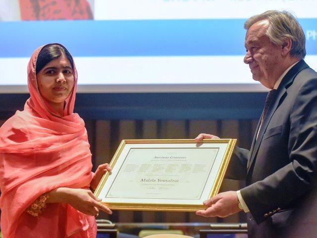 "UN Appoints Malala ""Messenger Of Peace"""