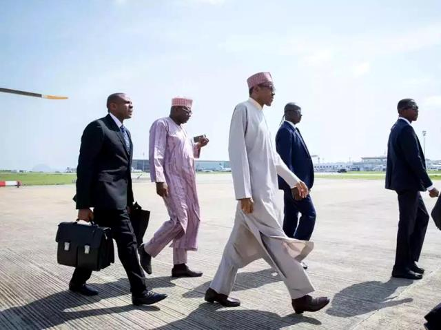 Ailing President Buhari Jets Off To London Again