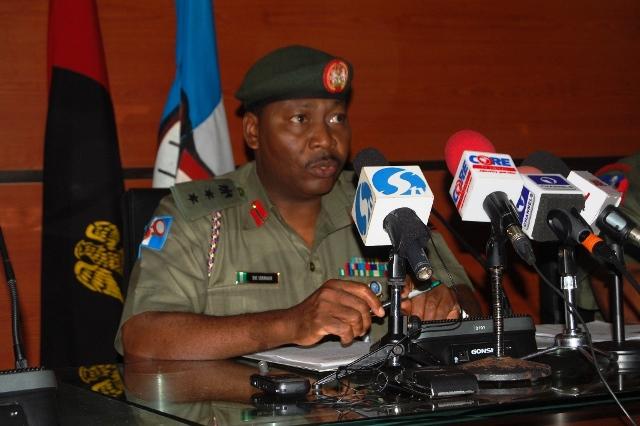 Army Spokesman, Sani Usman