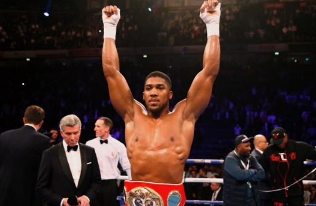 World Boxing Heavyweight Champion, Anthony Joshua