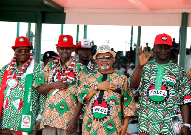 May Day Buhari's Representative Booed By Workers