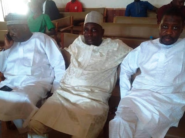 The three persons accused by the EFCC of N623 TETFUND contract scam