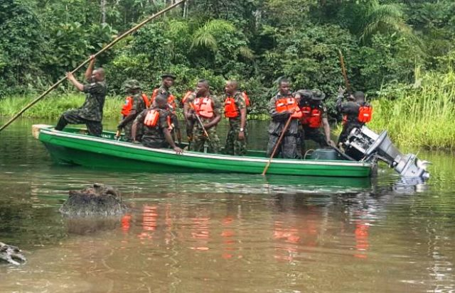 Troops Free Kidnap Victims, Recover Arms In Bayelsa
