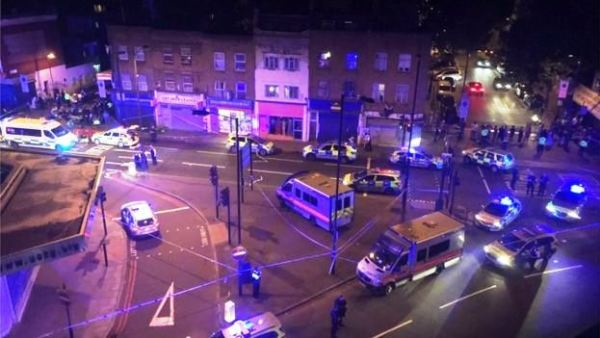 Another terror attack in London as man drives bus into pedestrians