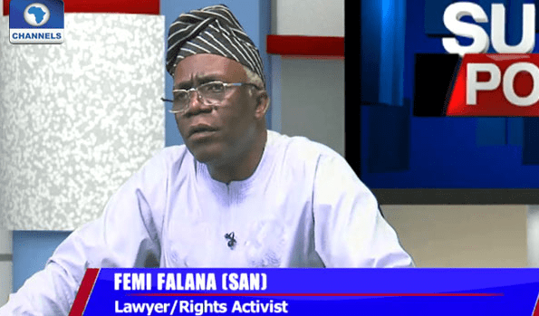 The man who wants Igbo to leave the north lives in Lagos, says Falana
