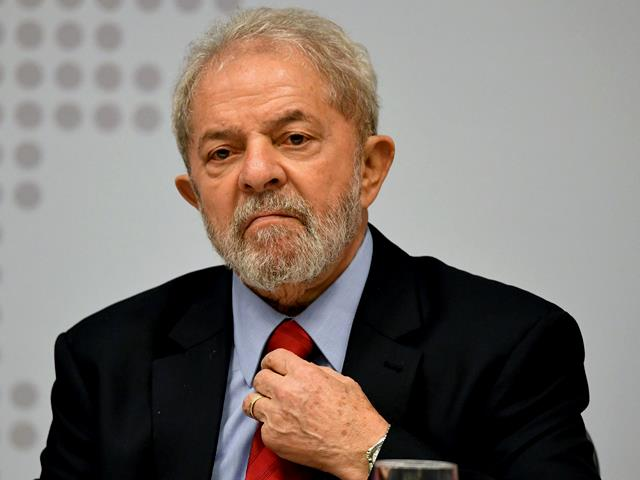 Lula da Silva - The former Brazilian President who will spend 9 and a half years in Prison