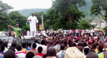 VIDEO: Melaye woos angry 'not too young to run' campaigners