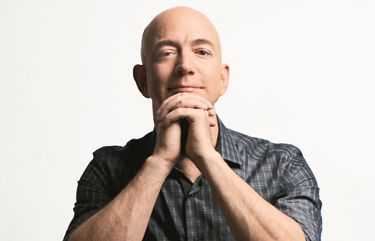 Close Up Jeff Bezos Book Seller Son Of Teenage Parents The