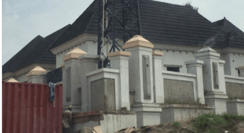 Bello, Kogi governor, 'converts' major street to entrance of his new house