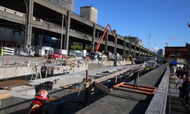 Last steps on the viaduct!