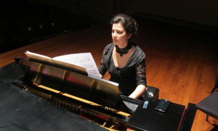 Oana Ruzu Tomai, pianiste